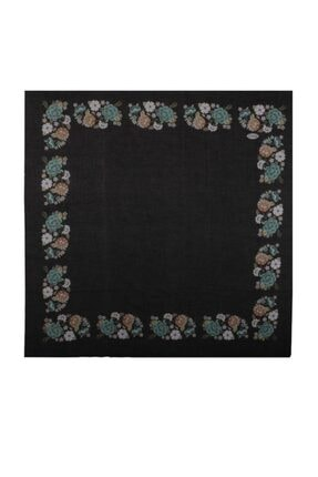 İpekçe  Çiçek Desenli Yazma 90 Cm | 022