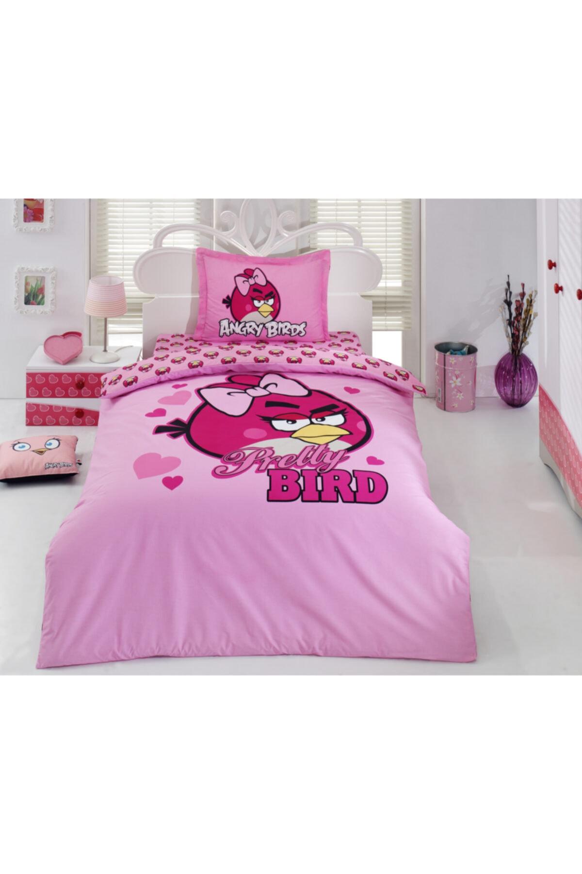 Angry Birds Angry Bırds Ranforce Pamuklu Nevresim Takımı Ab-08 1