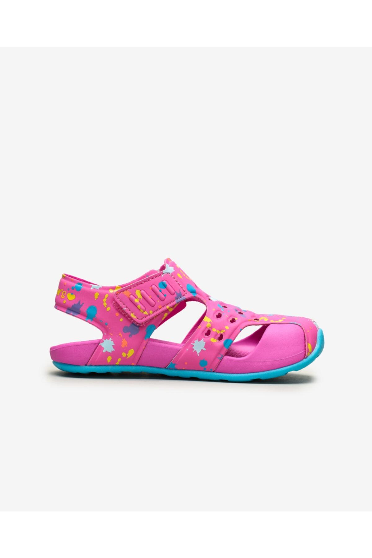 SKECHERS SIDE WAVE - Büyük Kız Çocuk Pembe Sandalet 2