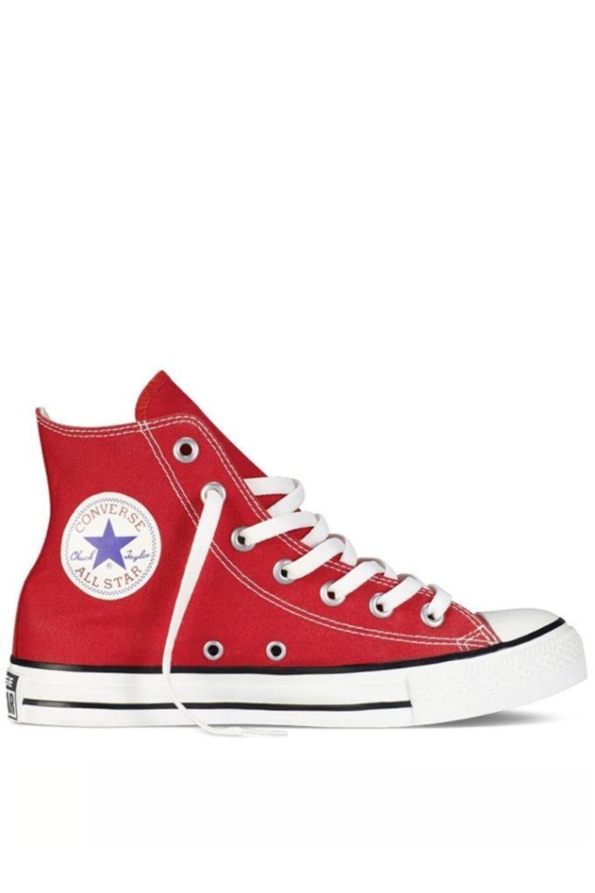 converse Chuck Taylor All Star Hi Unisex Kırmızı Uzun (M9621c) 1