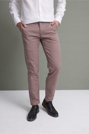 TENA MODA Erkek Vizon (214) Hisar Slim Fit Pantolon