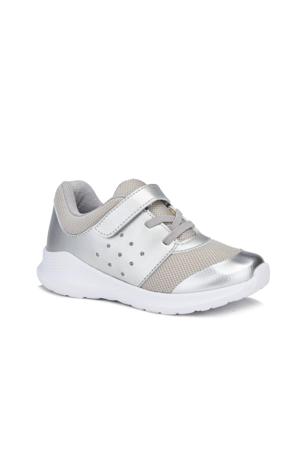 Vicco Mario Kız Çocuk Gümüş Spor Ayakkabı 1