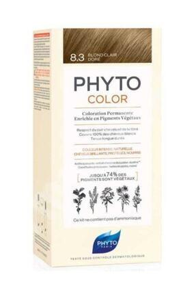 Phyto Color 8.3 - Sarı Dore (Bitkisel Saç Boyası) -
