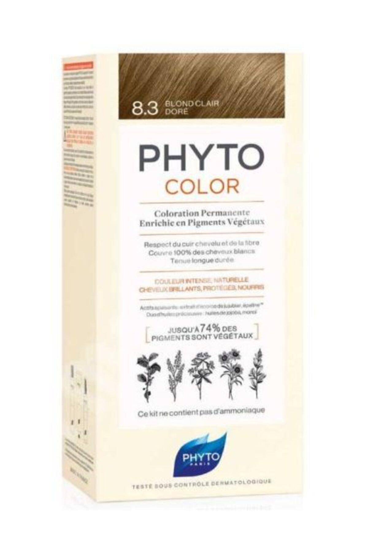 Phyto Color 8.3 - Sarı Dore (Bitkisel Saç Boyası) - 1