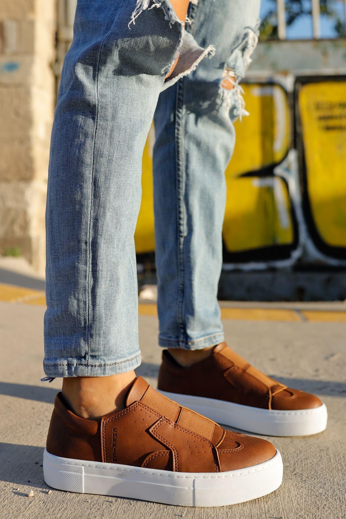 Chekich Ch033 Bt Kadın Ayakkabı Taba 2