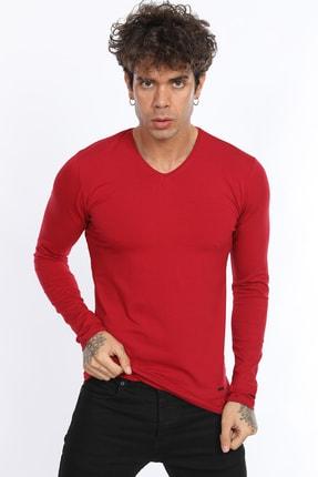 Fabregas Erkek Kırmızı Likralı Body