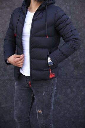 Moderk Yeni Sezon Siyah Erkek Mont