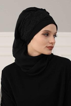 Ayşe Tasarım / Aisha's Design Şifon Hazır Türban