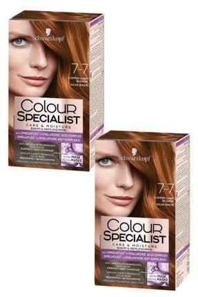 Colour Specialist Sıcak Bakır 7-7 Saç Boyası X 2 Adet