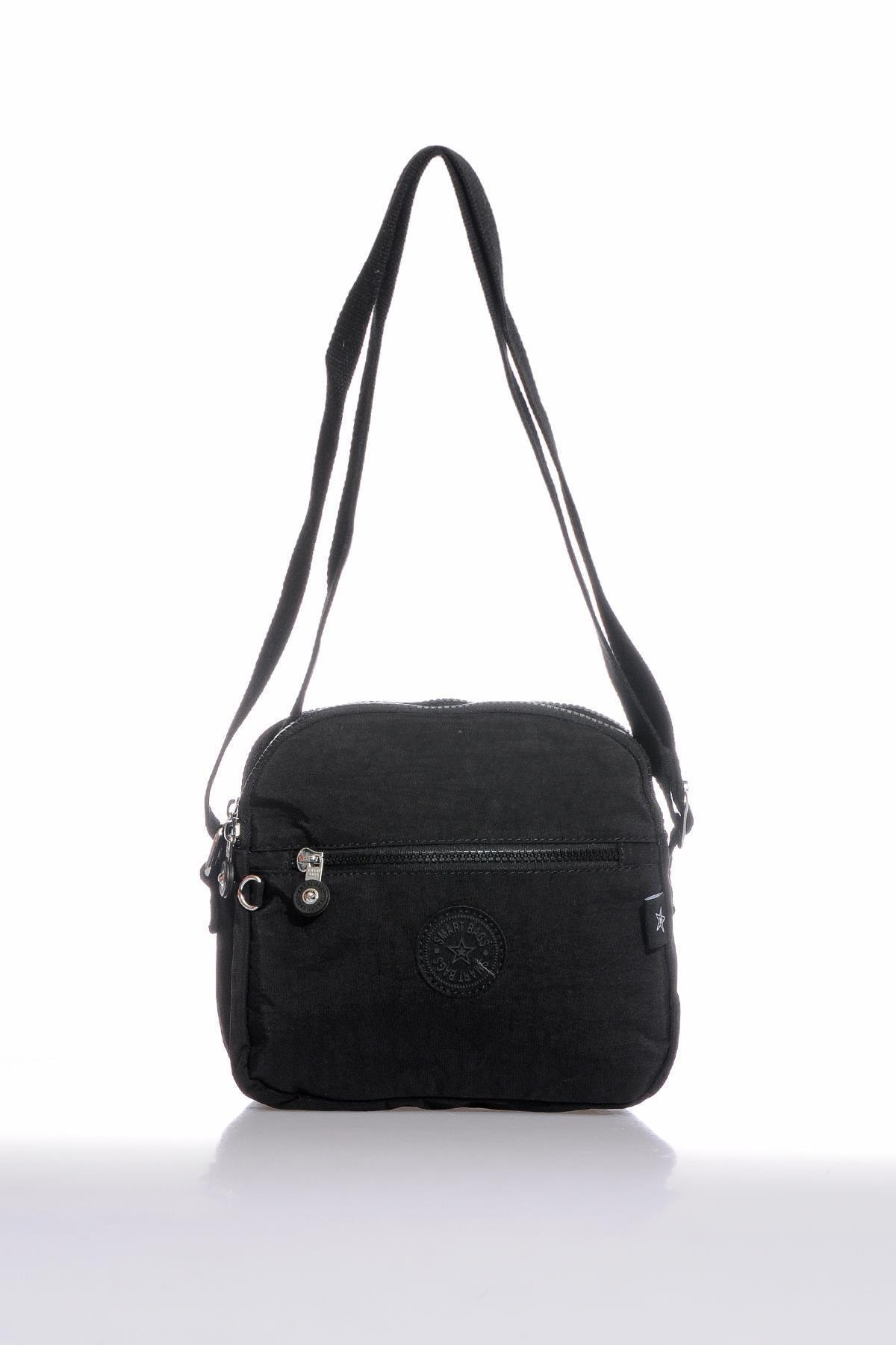 SMART BAGS Smb3058-0001 Siyah Kadın Çapraz Çanta 1