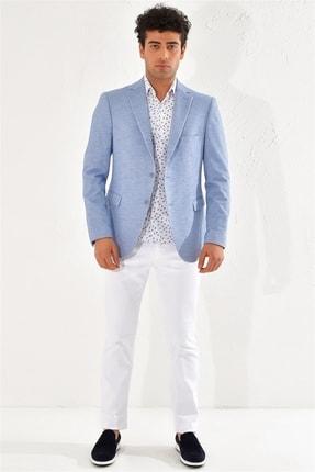 Efor C 556 Slim Fit Mavi Klasik Ceket