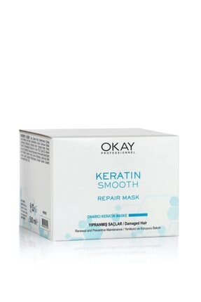 Okay Keratin Smooth Onarıcı Maske 500ml