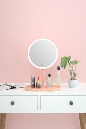 MOZIUR Dokunmatik Led Işıklı Yuvarlak Makyaj Aynası