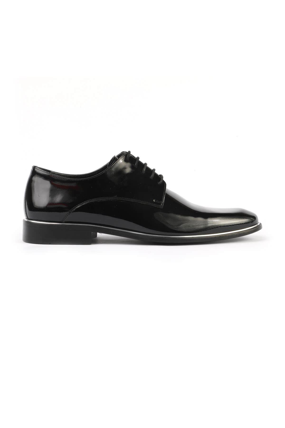 Libero 2140 Lacivert Rugan Baskılı Klasik Ayakkabı 2