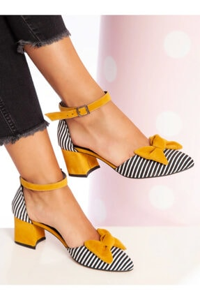 ayakkabıhavuzu Topuklu Ayakkabı - Hardal - Ayakkabı Havuzu