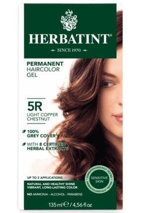 Herbatint 5r Light Copper Chestnut Hair Color | Açık Bakır Kahve Saç Boyası