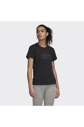 adidas W BB T Siyah Kadın T-Shirt 101069145