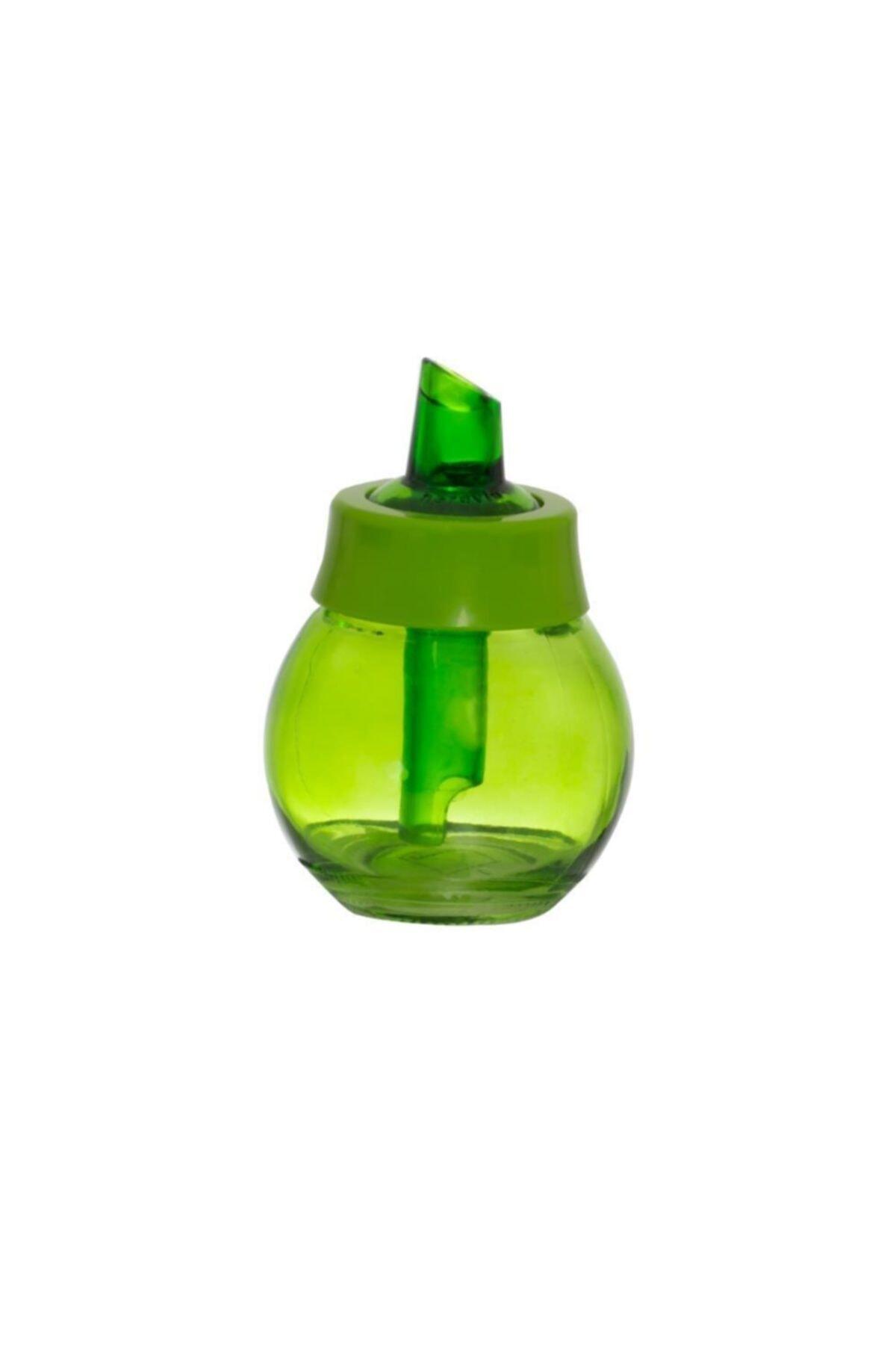 Herevin 200 Cc Yeşil Renkli Cam Toz Şekerlik 1