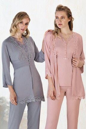 Lohusa Sepeti Fc Fantasy 1151 Carmen Sabahlıklı Lohusa Pijama Takımı