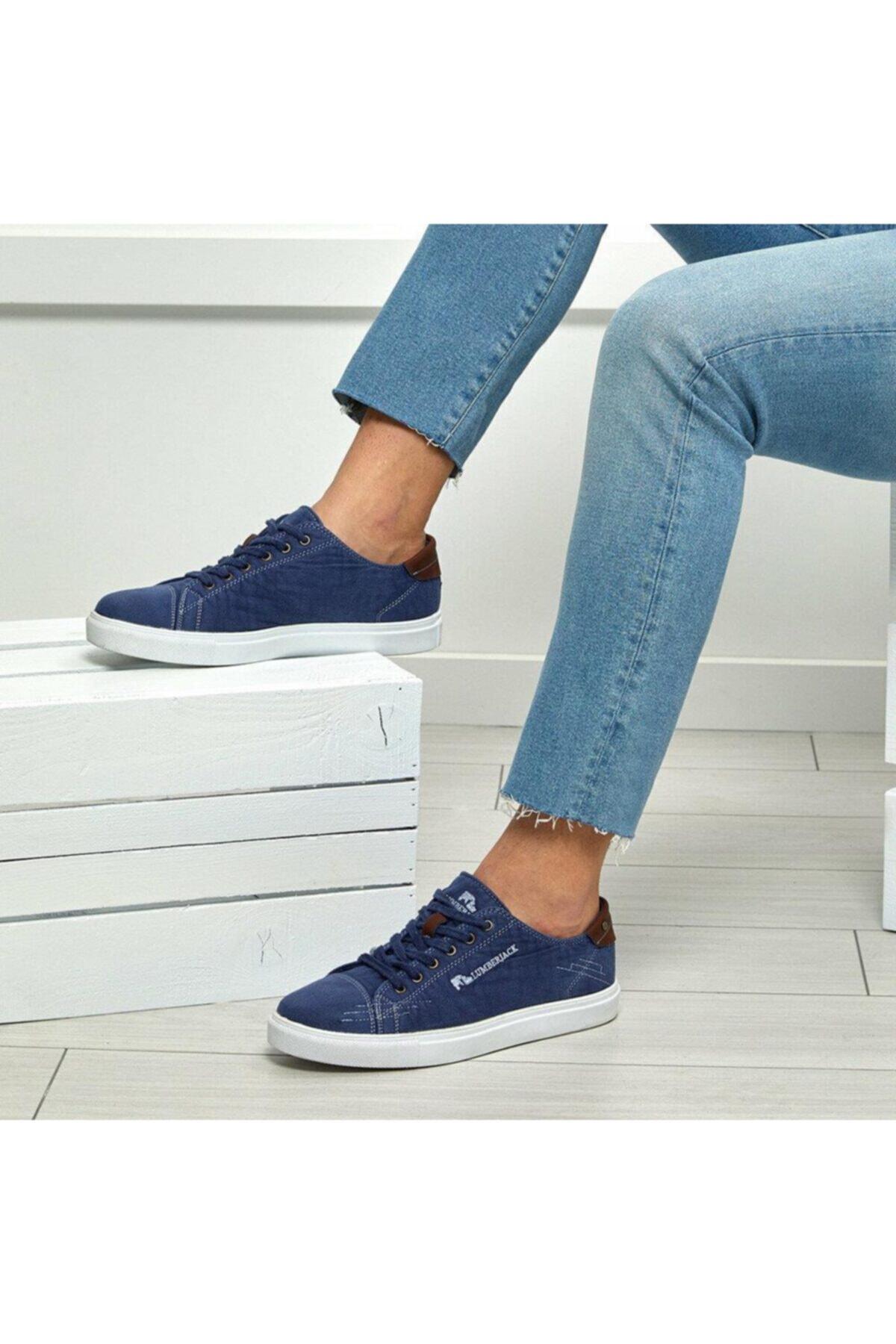 lumberjack Dalton 100241898 Mavi Erkek Sneker Ayakkabı 1