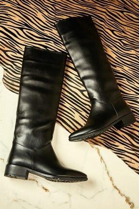 Bambi Siyah Kadın Çizme K0511170609