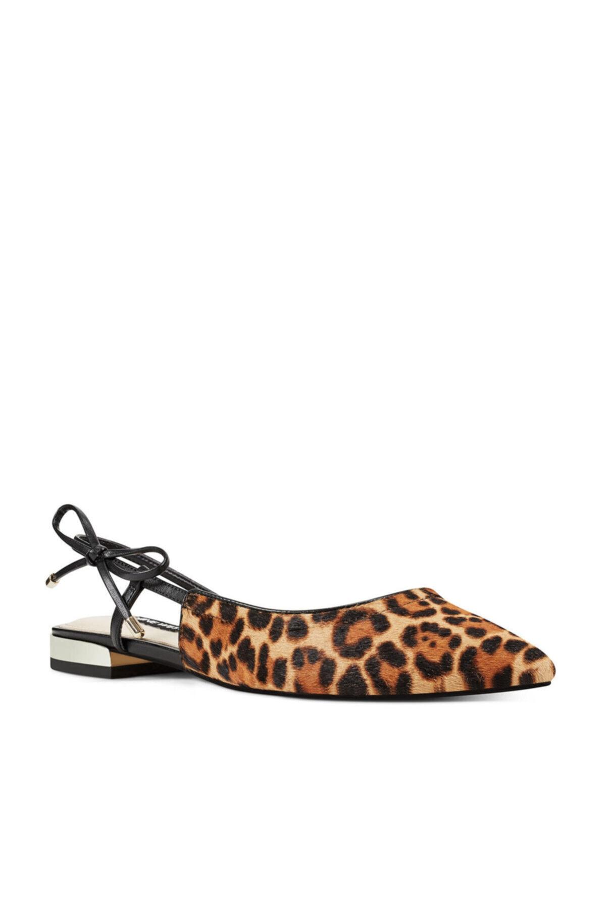 Nine West Rosap5 Leopar Kadın Sandalet 2