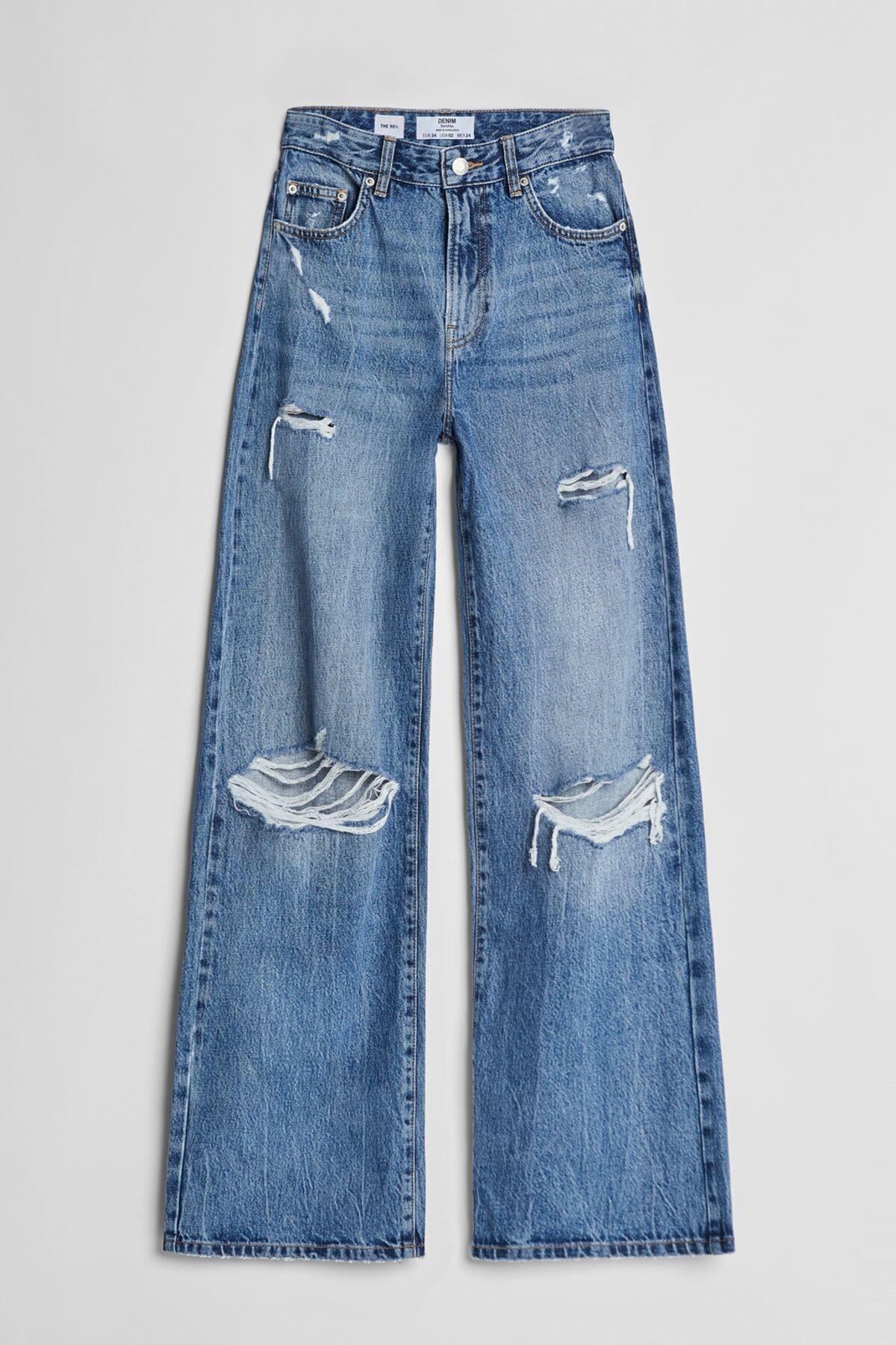 Bershka Wide Leg 90's Jean 2