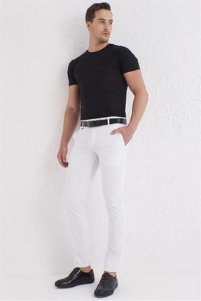 Efor P 1073 Beyaz Spor Pantolon