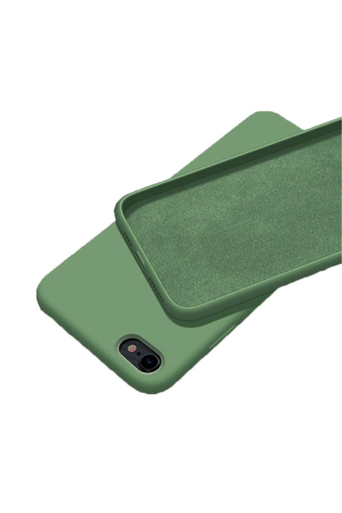 Mopal Iphone 7 / 8 Içi Kadife Lansman Silikon Kılıf 1