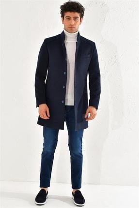 Efor Plt 062 Slim Fit Lacivert Spor Palto