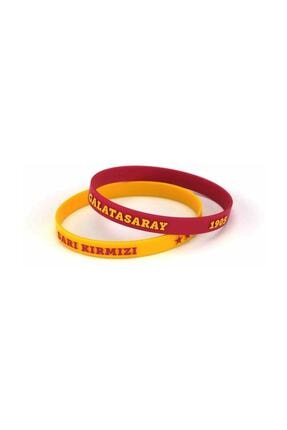 Galatasaray Gs Çiftli Bileklik Sarı Kırmızı, Lisanslı Ürün