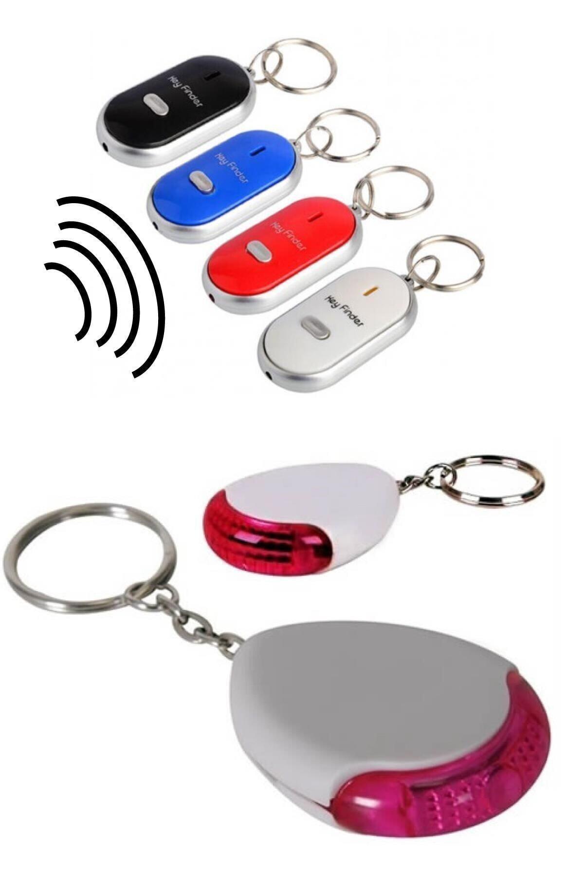 Trend Avenue Anahtar Bulucu Anahtarlık Sese Duyarlı Işıklı Anahtarlık Aparat 1