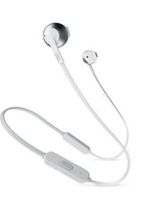 JBL T205BT Bluetooth Kulakiçi Kulaklık - Gümüş