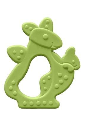 Bambino Kauçuk Yumuşak Diş Kaşıyıcı - Kanguru Figürlü Yeşil
