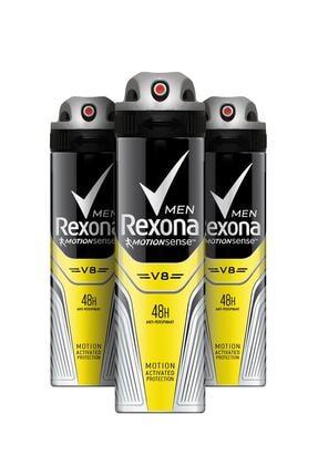 Rexona Erkek Deodorant Sprey V8 150 ml X 3
