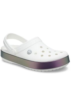 Crocs Unisex Beyaz Spor Terlik Sandalet 206595-100
