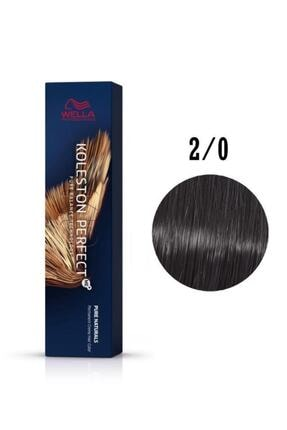 Wella Koleston Perfect Me+ 2-0 Siyah 60 ml Saç Boyası