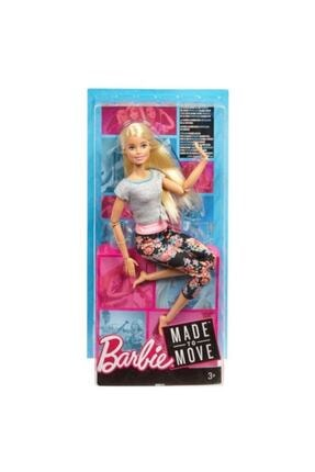 Barbie Mattel Barbie Sonsuz Hareket Oyuncak Bebek Bebeği Made To Move Ftg81