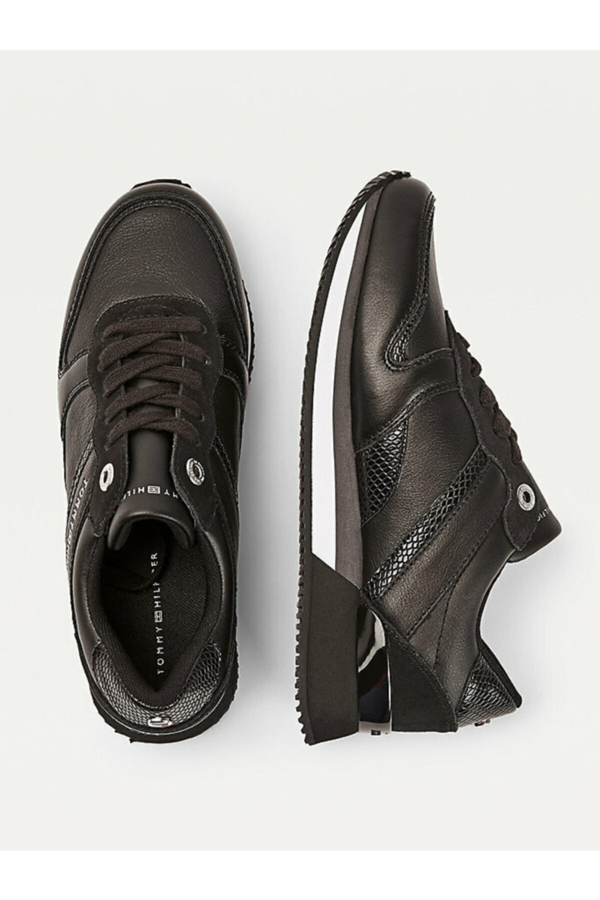 Tommy Hilfiger Kadın Siyah Sneaker Corporate Femınıne Cıty Sneaker FW0FW05233 2