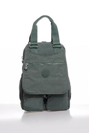 SMART BAGS Smbky1174-0005 Haki Kadın Sırt Çantası