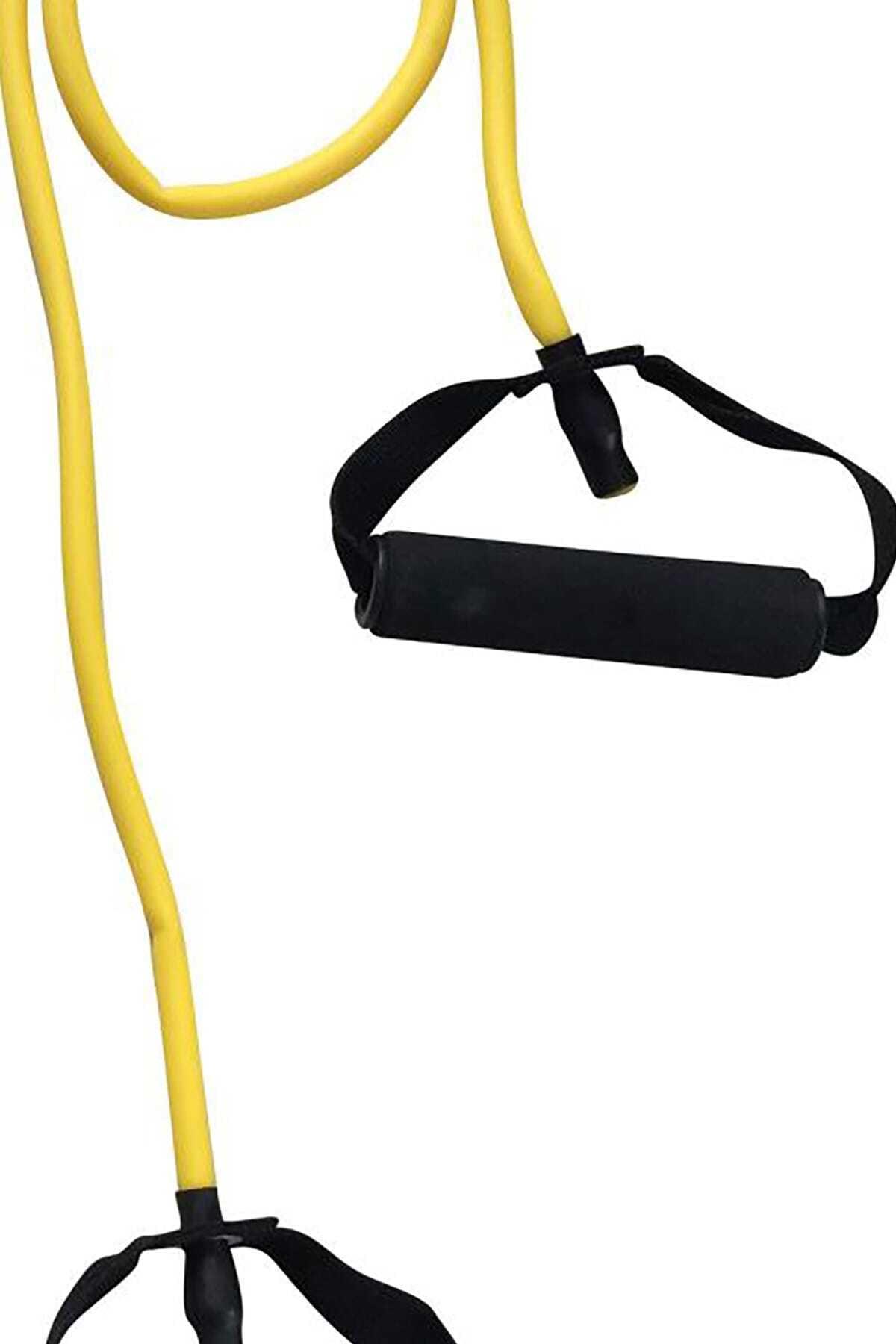 BUSSO Dl-10 Hafif Sertlik Tutmaçlı Pilates&egzersiz Direnç Lastiği - Bl-dl-10 1