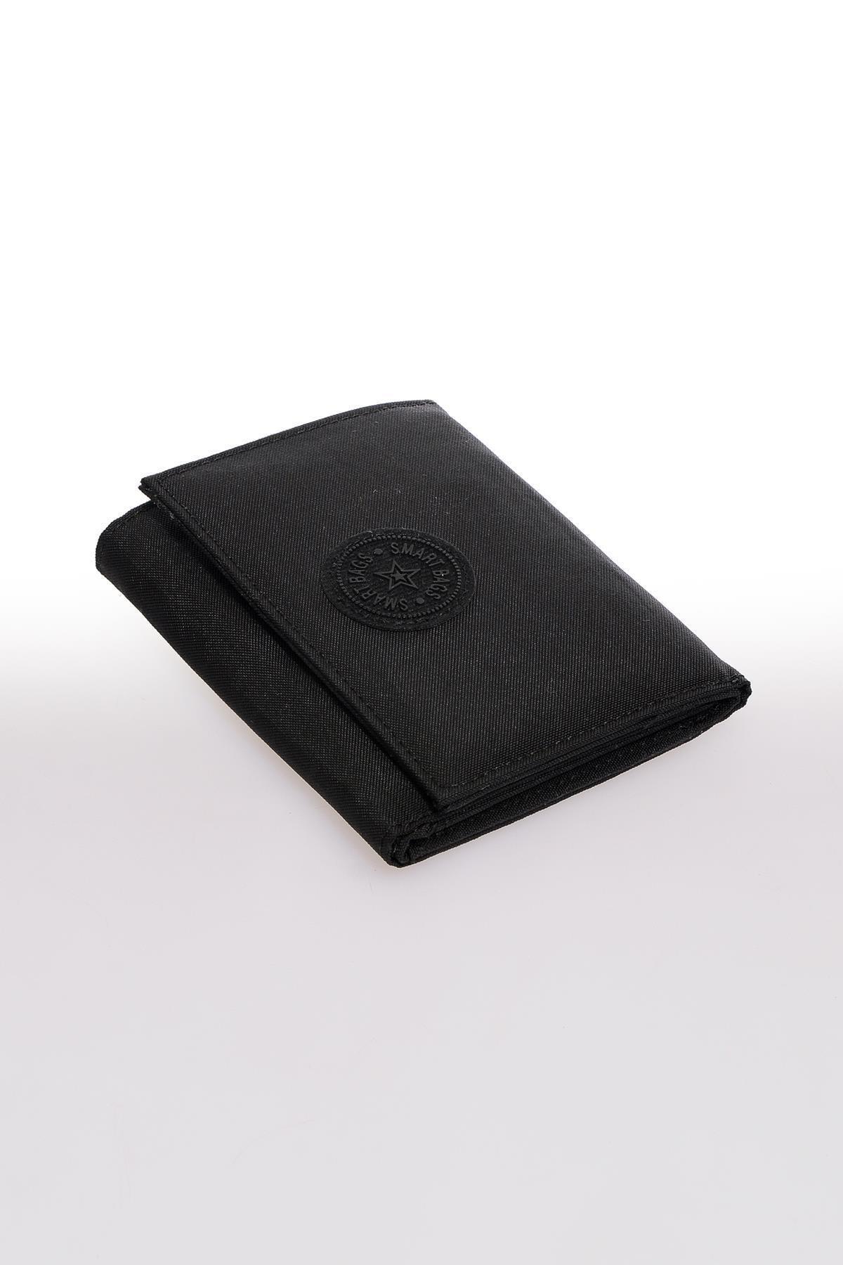 SMART BAGS Smb3050-0001 Siyah Kadın Cüzdan 1