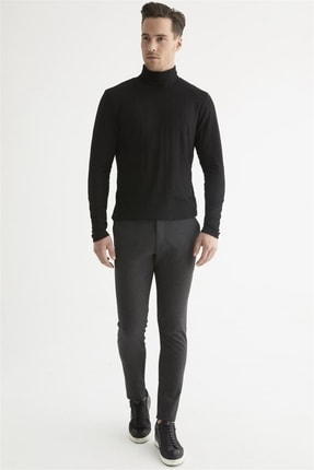 Efor P 1074 Slim Fit Antrasit Spor Pantolon