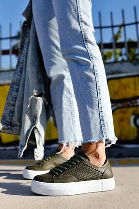 Chekich Ch015 Bt Kadın Ayakkabı Haki