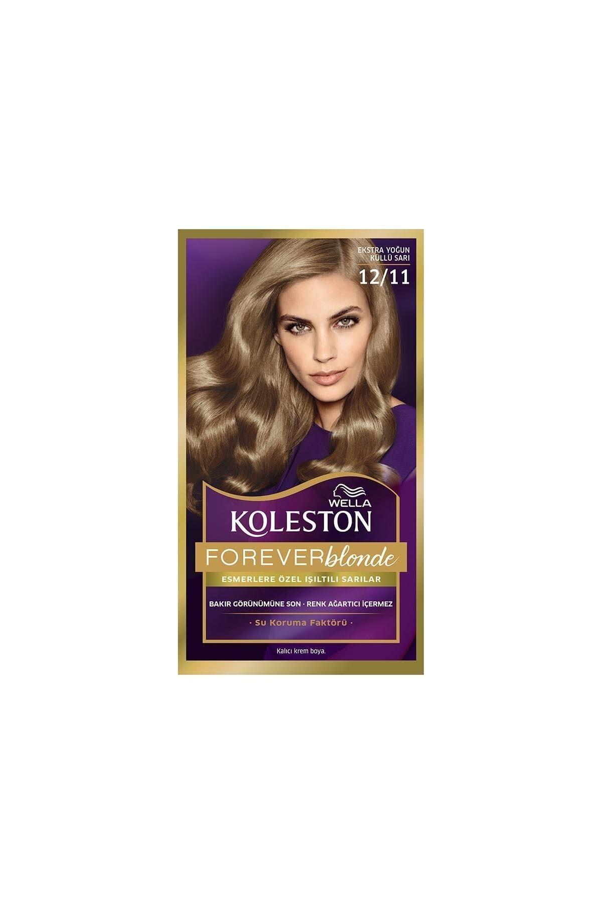 Koleston Saç Boyası 12 11 Ekstra Yoğun Küllü Sarı 1