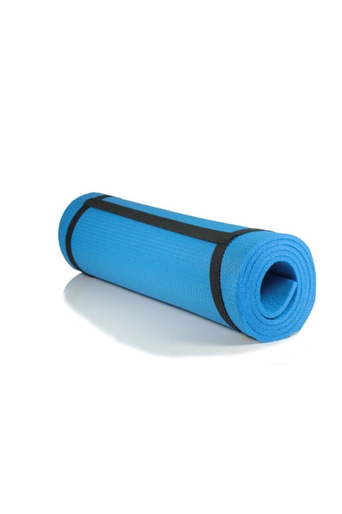 Walke 7 Mm Kalınlık Pilates Matı Yoga Matı Kamp Matı Mavi Boy 150 Cm En 51 Cm 1