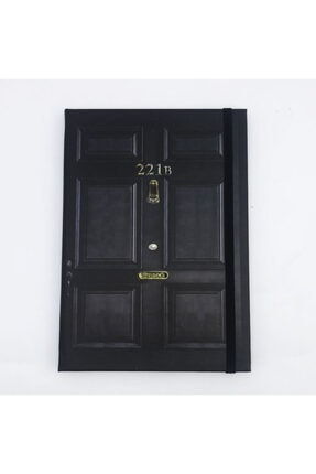 Köstebek Sherlock - 221b Baker Street Door Defter