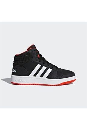 adidas HOOPS MID 2.0 K Siyah Erkek Çocuk Sneaker Ayakkabı 100663753