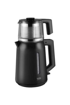 Beko Bkk 2221 C 1650 Watt Siyah Cam Demlikli Çay Makinesi