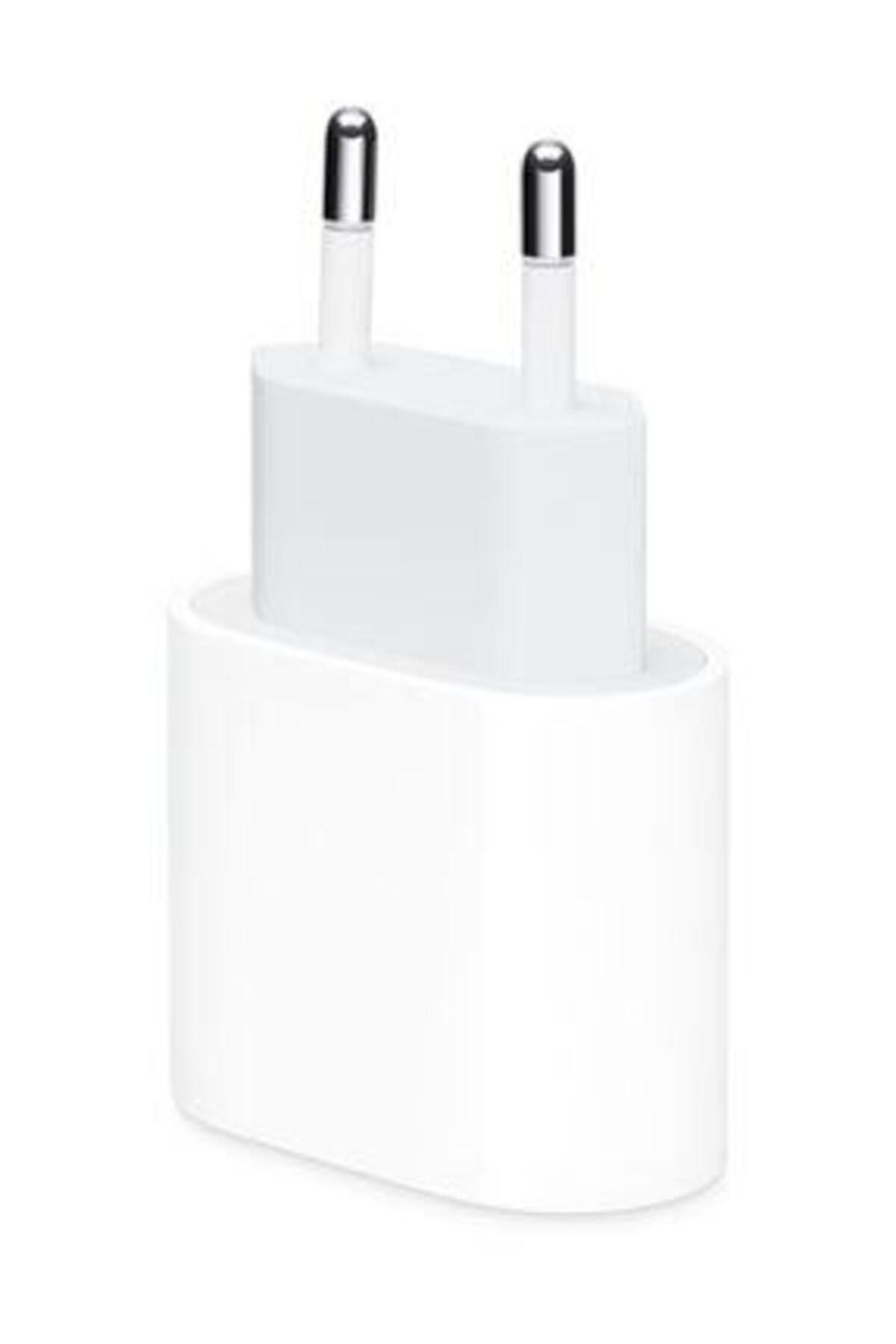 2K Original Apple Iphone Uyumlu 18 W Usb-c Güç Adaptörü (Hızlı Şarj) 1